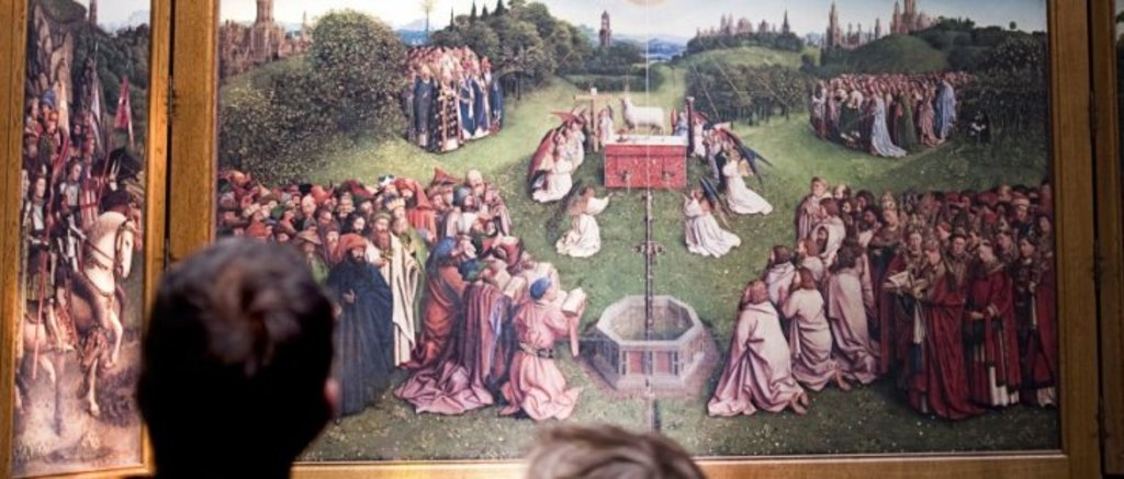 Ghent, Alterpiece Van Eyck