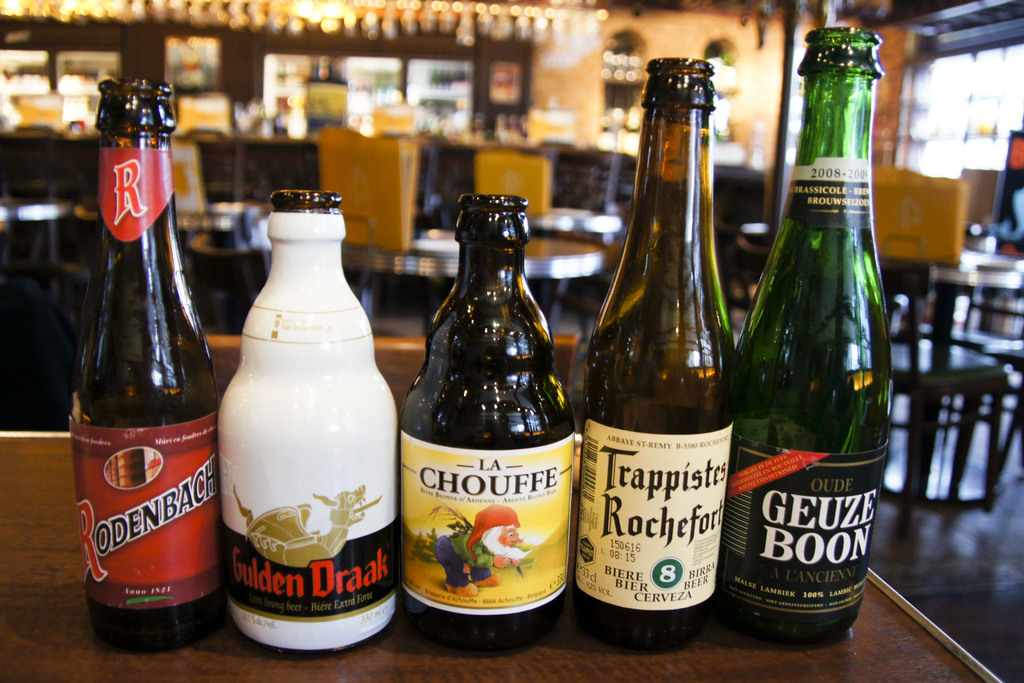 Belgian beers, famous and tasty