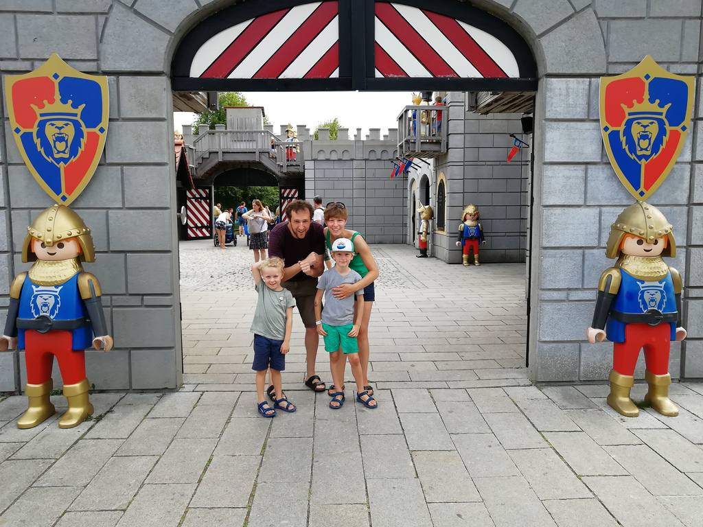 Our family in Playmobil funpark 2018