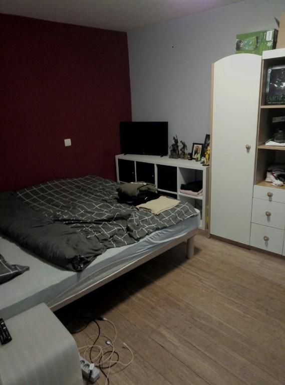 Jeroen's room. Double bed in here.