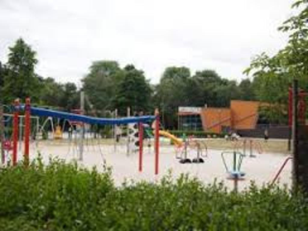 Stadspark Turnhout. With a playgarden near a big terrace where you can have a drink.
