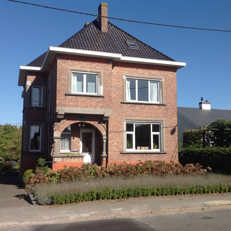 Our house, frontview