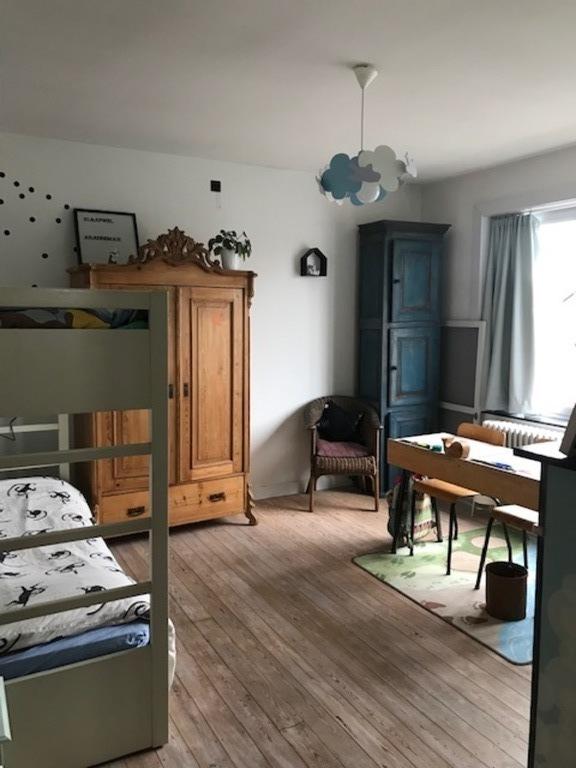The boy's bedroom