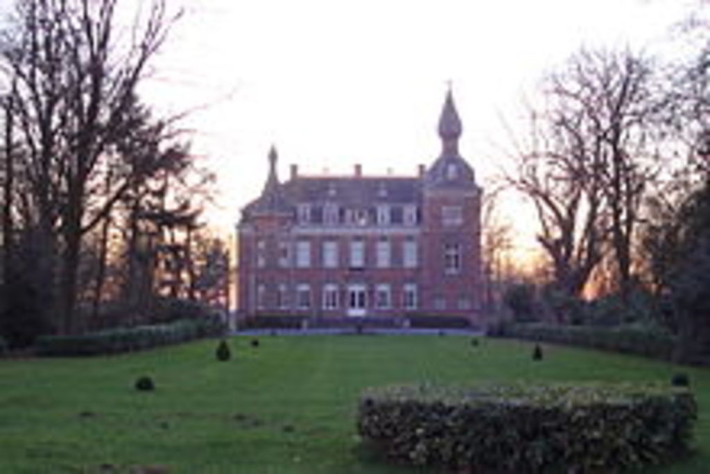 The local castle of Ruddervoorde, 'Pecqsteen'