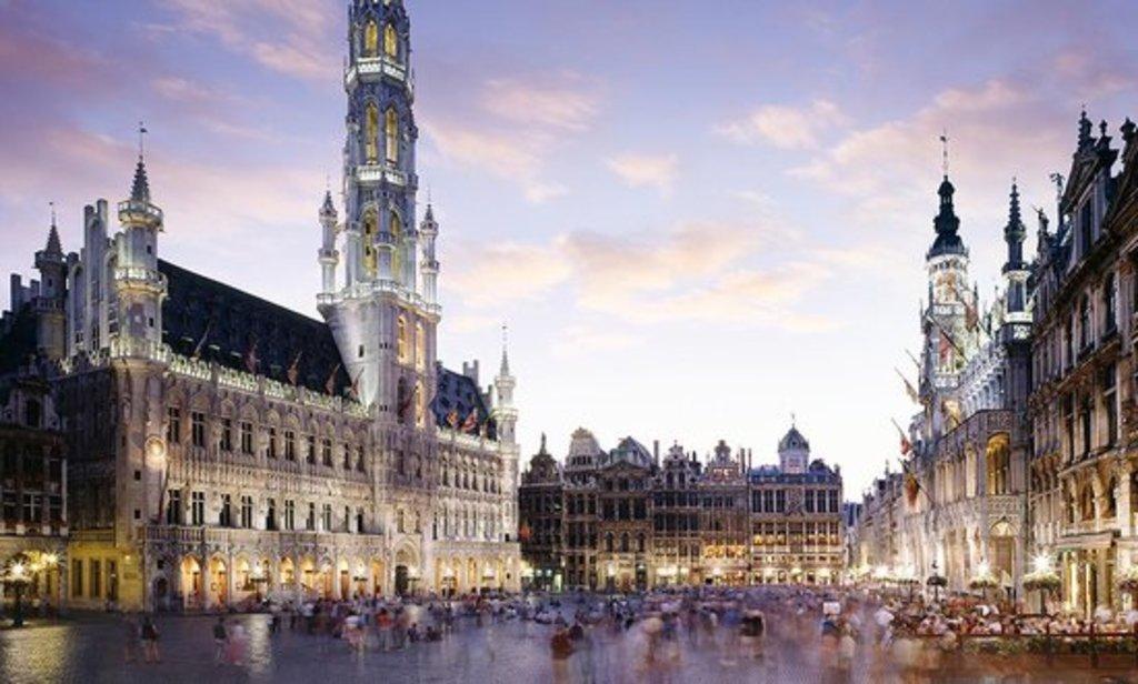Brussels, 50 mins drive