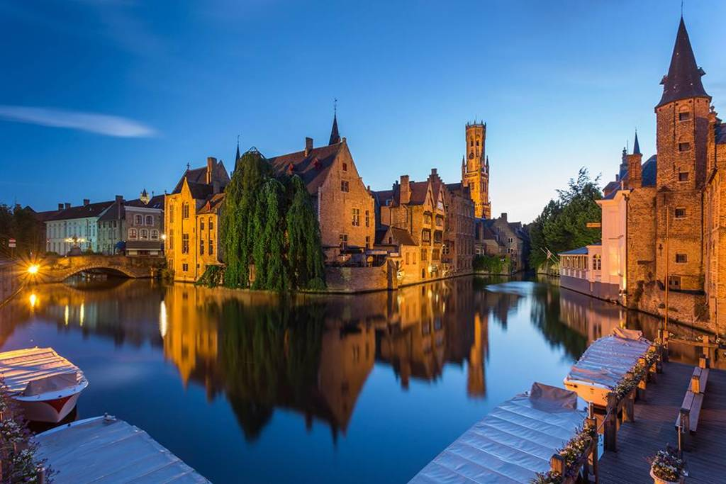 Bruges (20 km from our house)