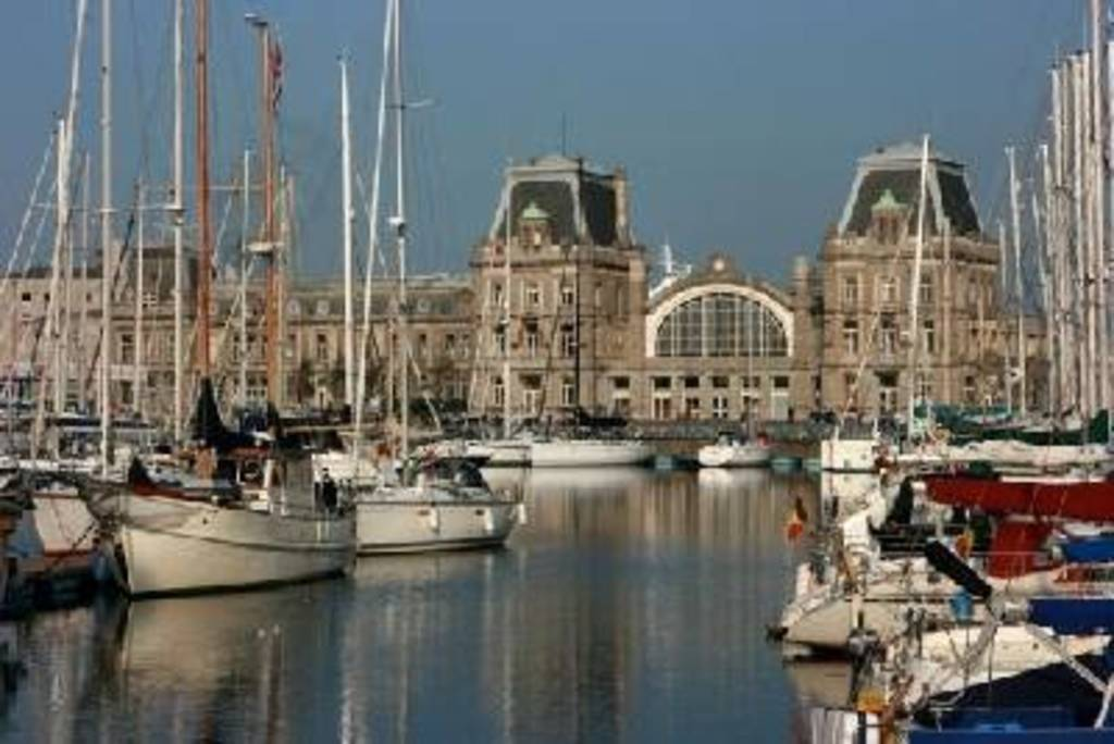 Oostende (10 km from our house)