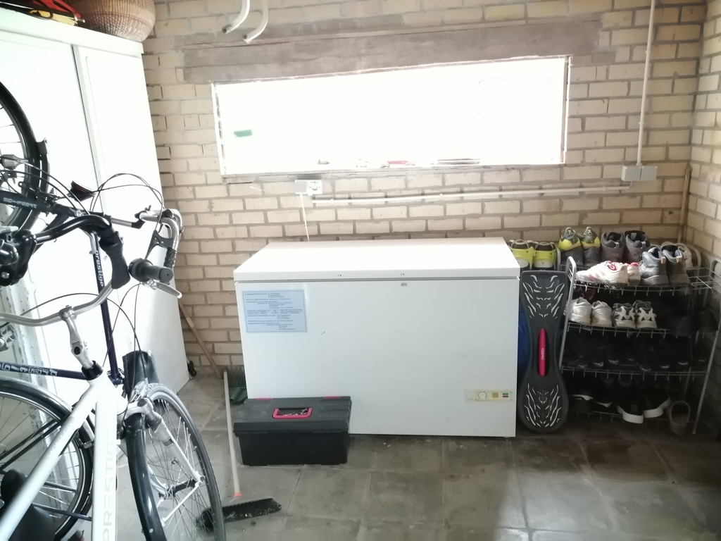 part of the garage