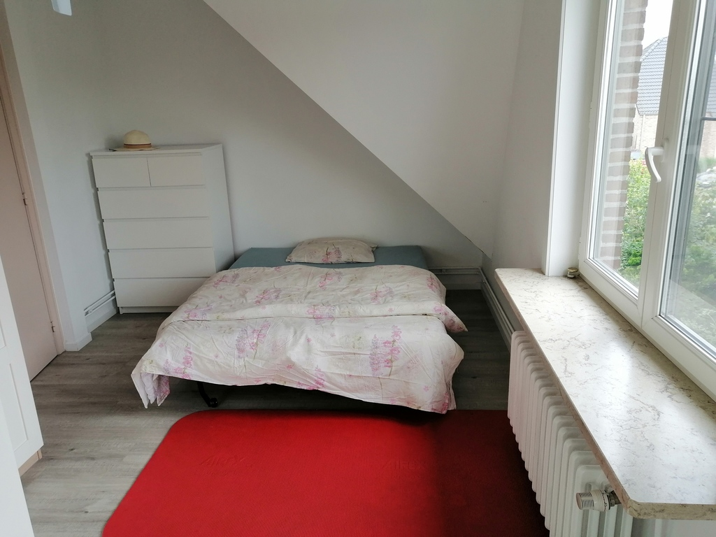 the guest's bedroom