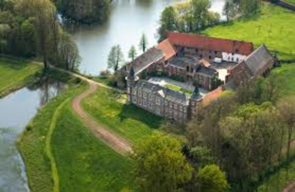 Castles in Haspengouw (Castle of Nieuwenhoven in Sint-Truiden on photo)
