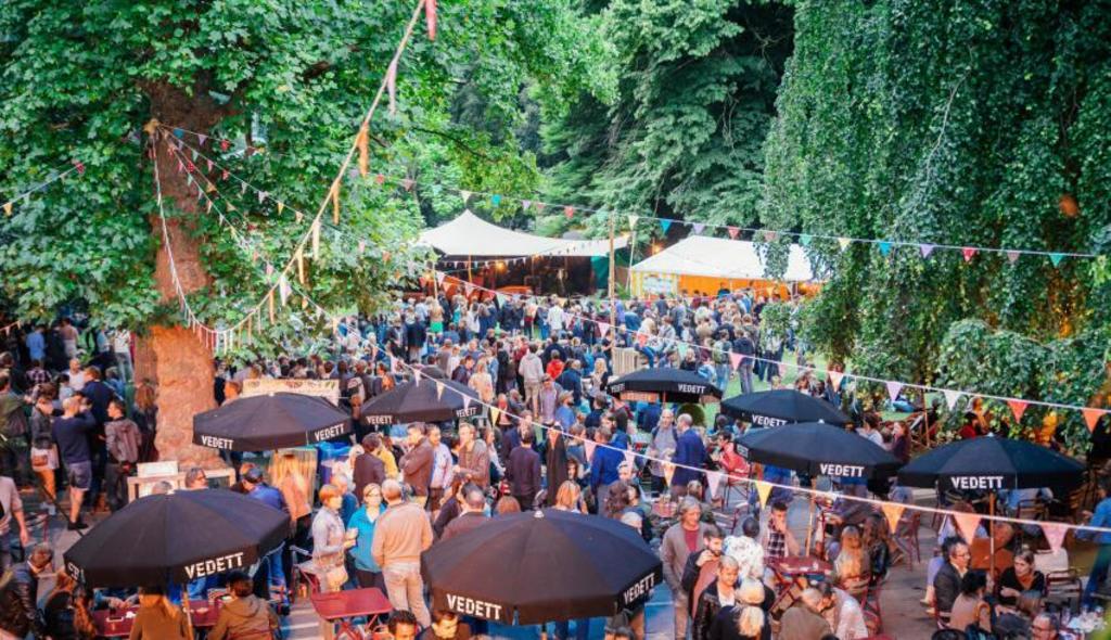 Vibrant free summer festival in Bruges