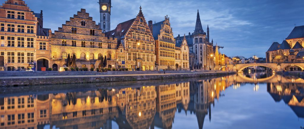 Wonderful city of Gent (Ghent- Gand), 50km from our house