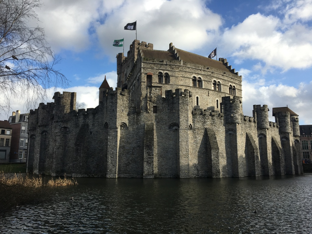 Ghent City Castle 'Gravensteen'