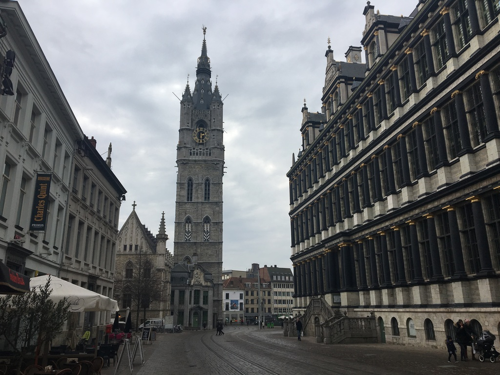 Ghent City -town hall and Belfry