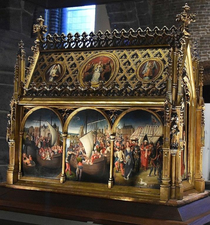 The museums in Bruges host many works of Flemish primitives