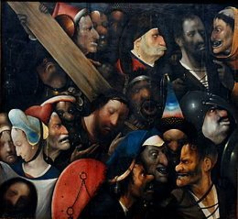 Fine arts museum in Ghent with this impressive work of Bosch