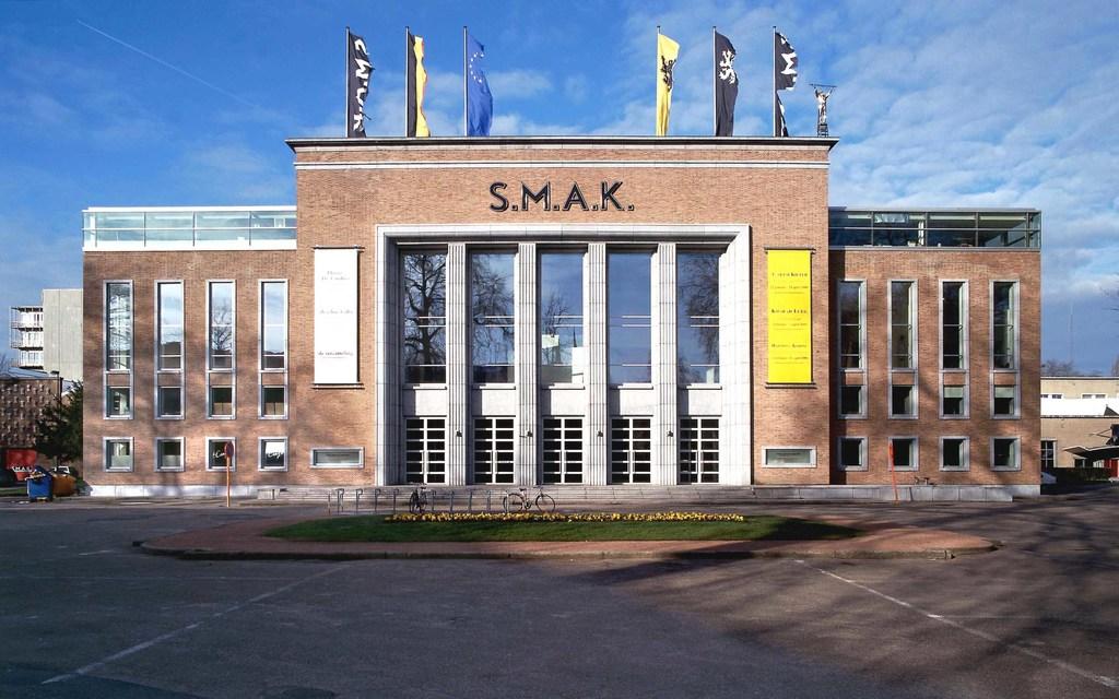 SMAK modern art museum in Ghent