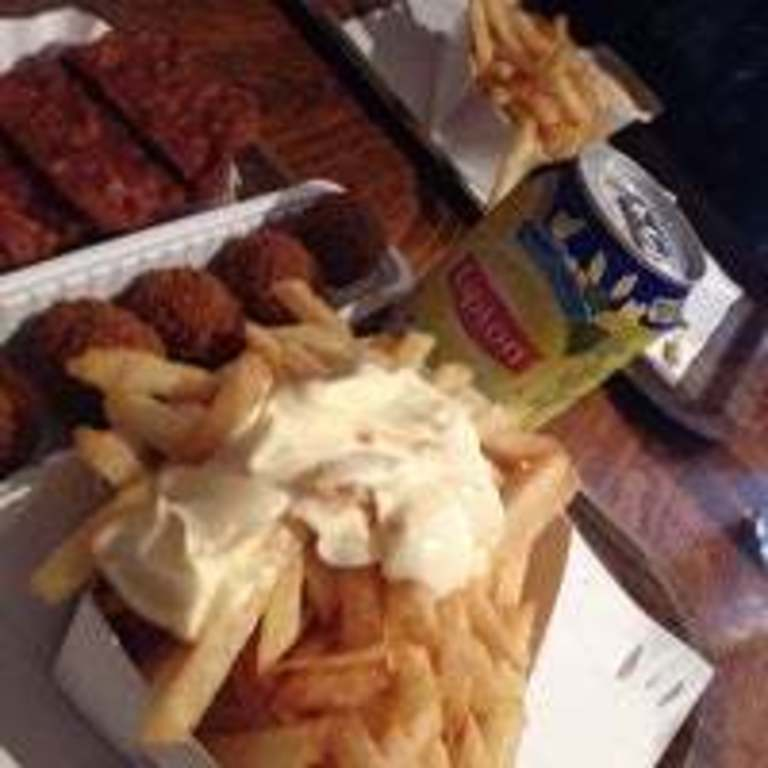 Don't forget to have some French fries at our local De Biezen
