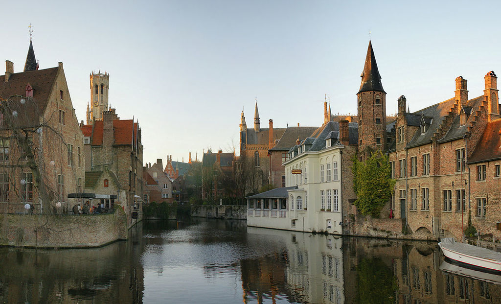 More canals in Bruges (the boat trip is highly recommended)