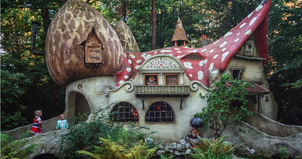 The magical Efteling theme park in Holland (2 hour drive)