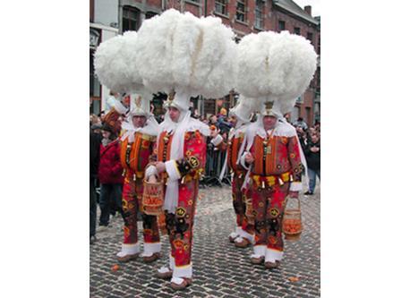 Gilles de Binche (famous carnaval)