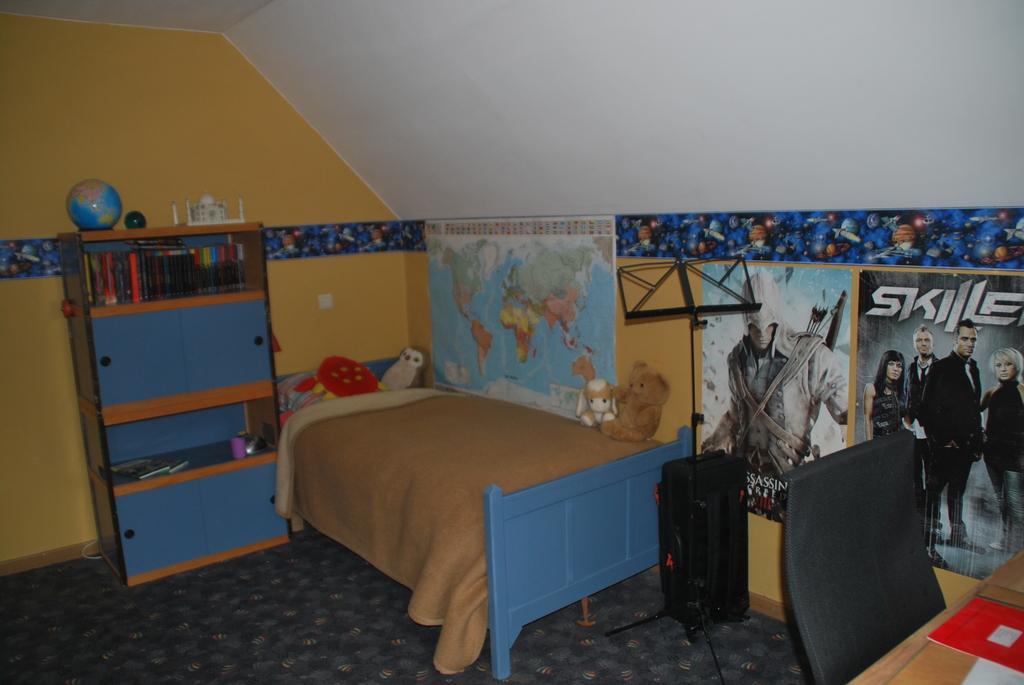 Pieter's bedroom