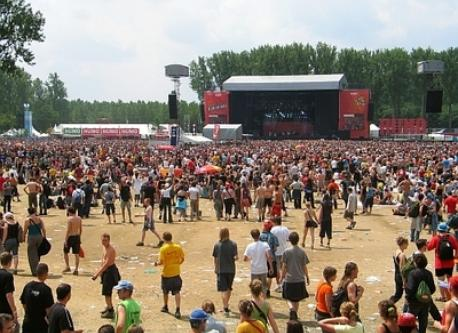 the rock werchter festival-site