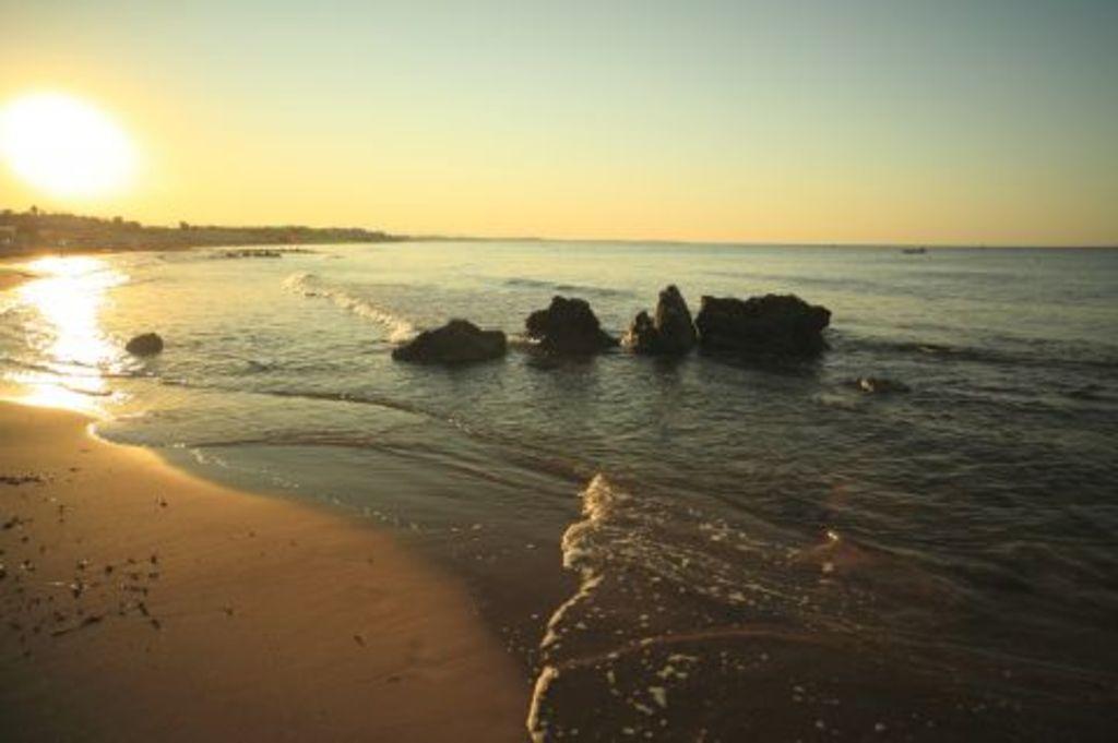 Zeebruges in the evening