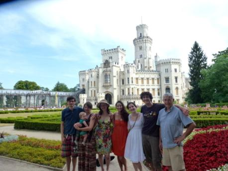 Our Family in CZ 2013