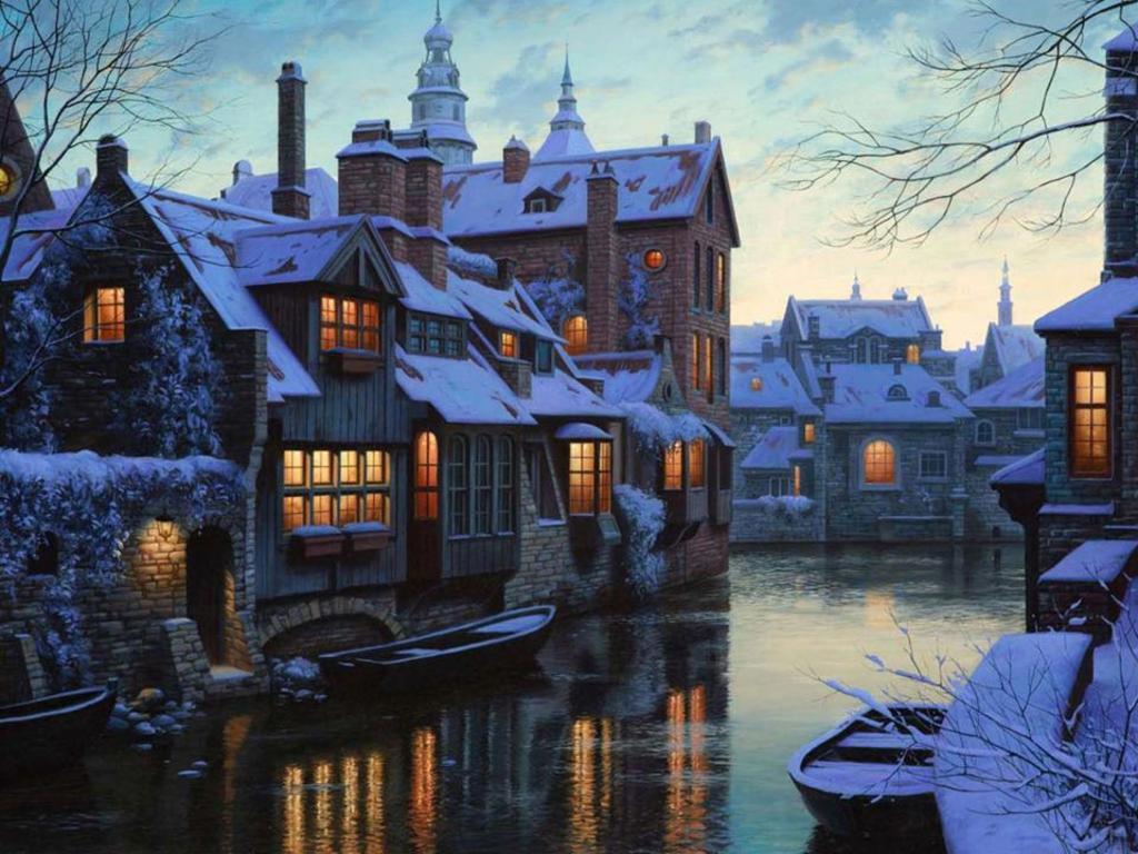 Bruges (wintertime)