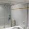 Shower room with rain shower