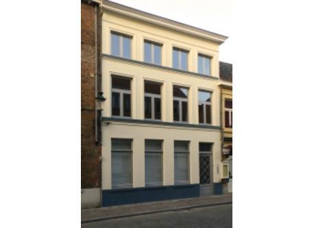 Bruges. Katelijnestr 112.  Front facade