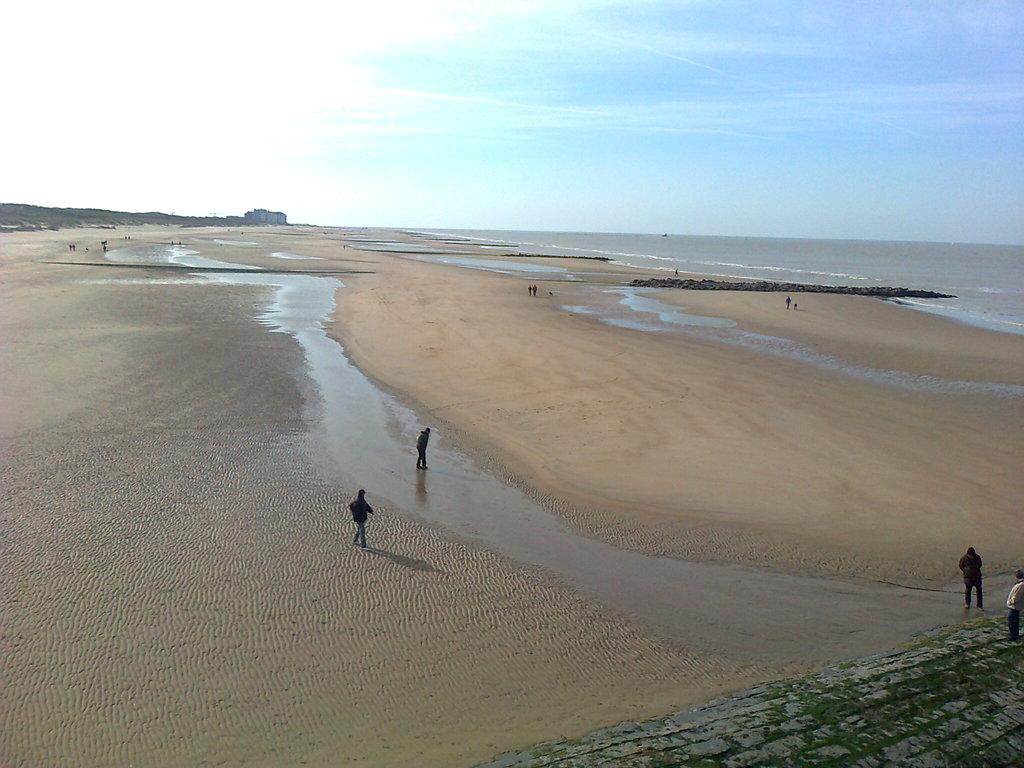 beach ( Blankenberge )