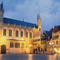 Bruges, Burg square with city hall