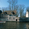 Bruges, beguinage and lake of love