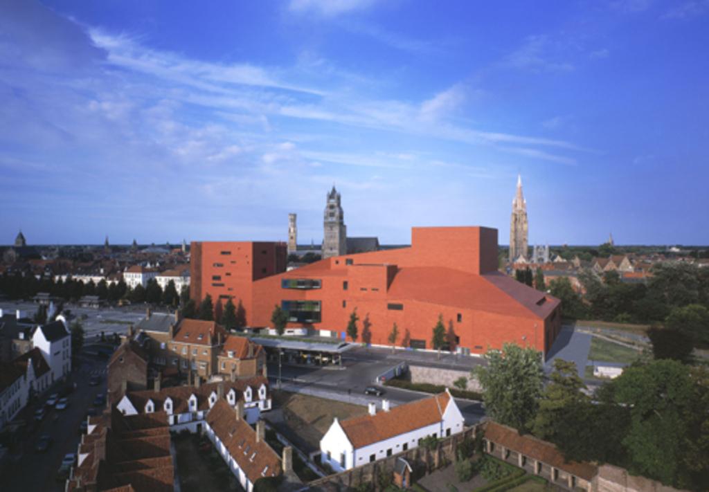Bruges, concert hall