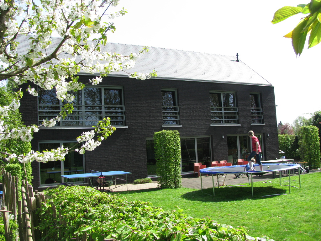 house at the back