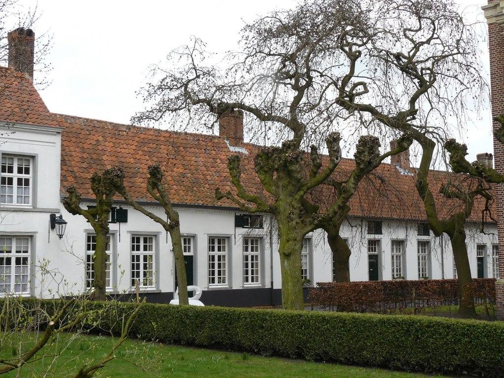 Het begijnhof in Hoogstraten