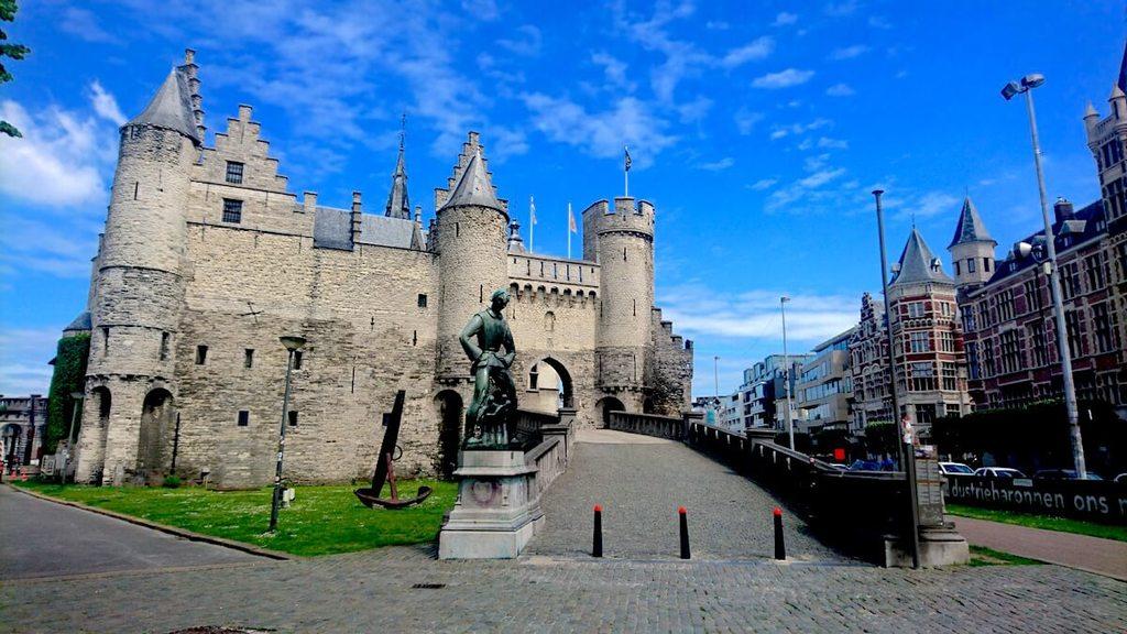 Het Steen in het centrum van Antwerpen