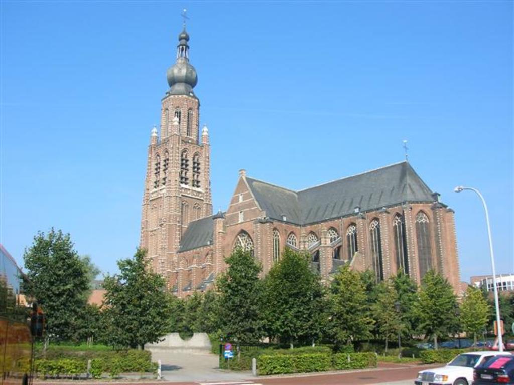 De Sint Catherinakerk in Hoogstraten