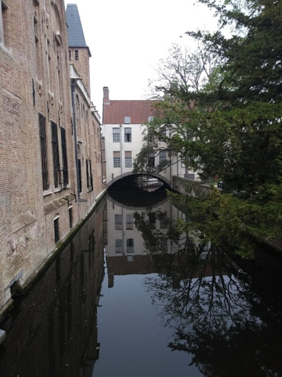 A view in Bruges