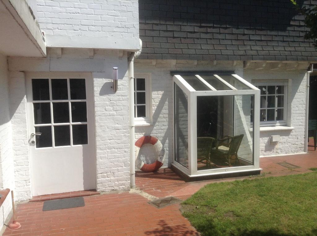 facade latérale appartement niveau jardin
