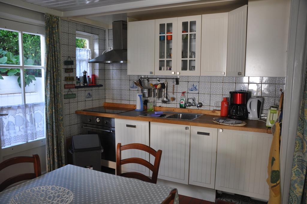 cuisine appartement niveau jardin