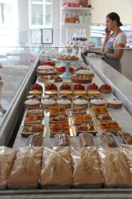Top class bakery 'Domestic' 5min. walk from us