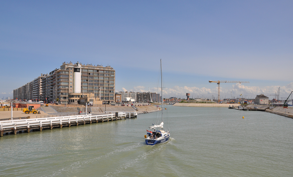 Blankenberge harbour