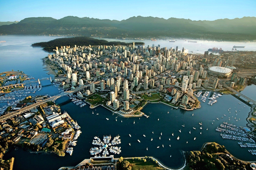 Vancouver, a world class city, is a 1 hour drive south of Squamish along the scenic Sea-to-Sky Highway.