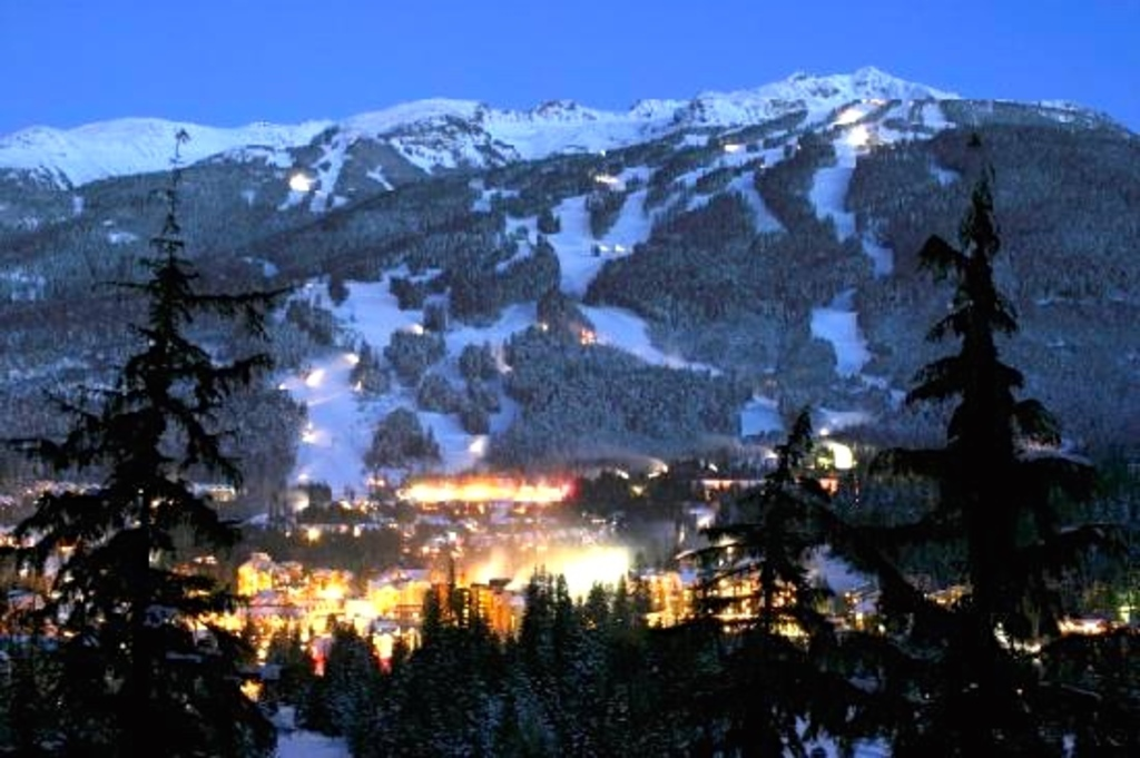 Whistler/Blackcomb has been rated the #1 ski resort in the world.