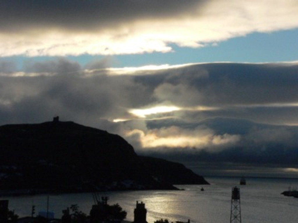 St. John's sunrise