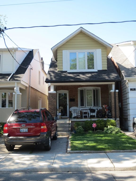 Our home in central Toronto.