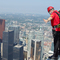 """Toronto's iconic CN Tower is major tourist attraction.  A """"Skywalk"""" has recently been added!"""